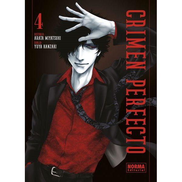 Crimen Perfecto #04 Manga Oficial Norma Editorial (spanish)