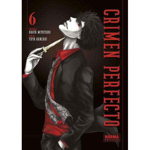 Crimen Perfecto #06 Manga Oficial Norma Editorial