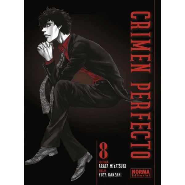 Crimen Perfecto #08 Manga Oficial Norma Editorial