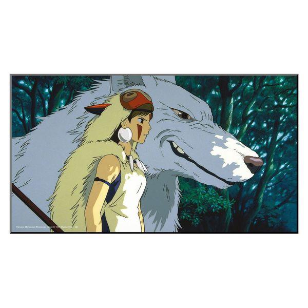 Póster de Madera La Princesa Mononoke Studio Ghibli