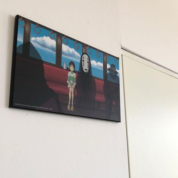 Studio Ghibli Wooden Wall Art Spirited Away