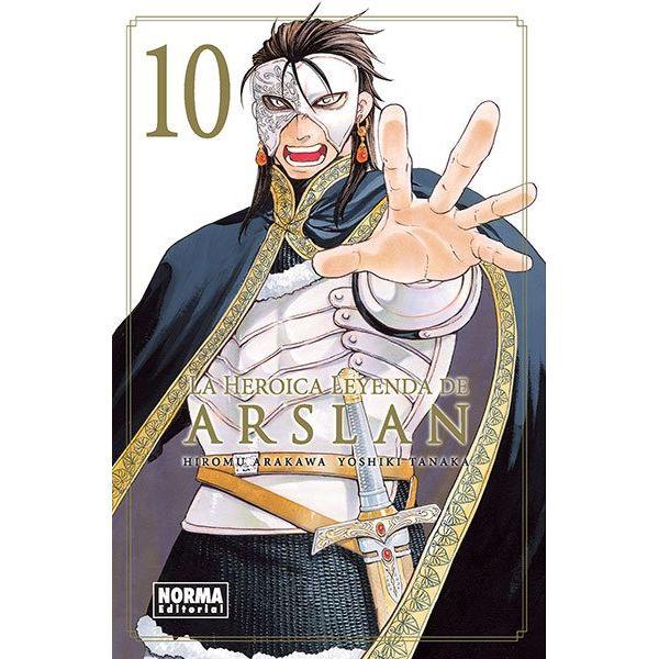 La Heroica Leyenda de Arslan #10 (Spanish) Manga Oficial Norma Editorial