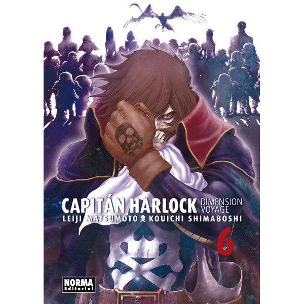 Capitán Harlock Dimension Voyage #06 Manga Oficial Norma Editorial
