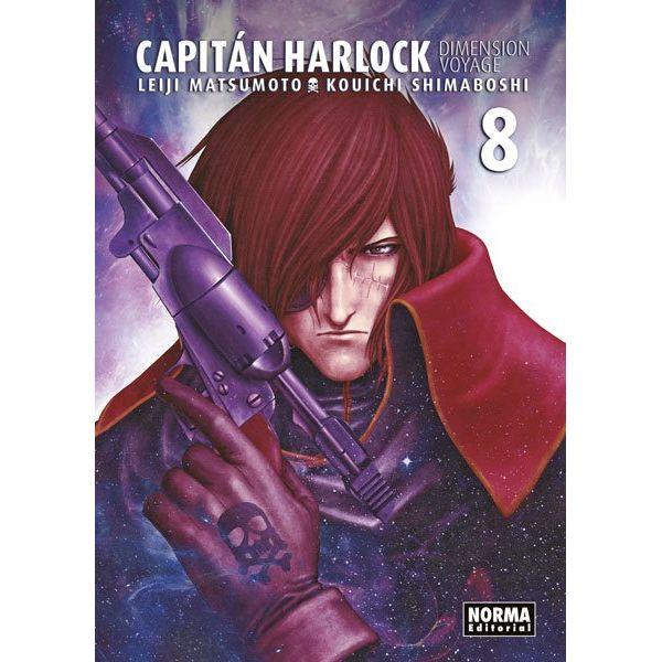 Capitán Harlock Dimension Voyage #08 Manga Oficial Norma Editorial