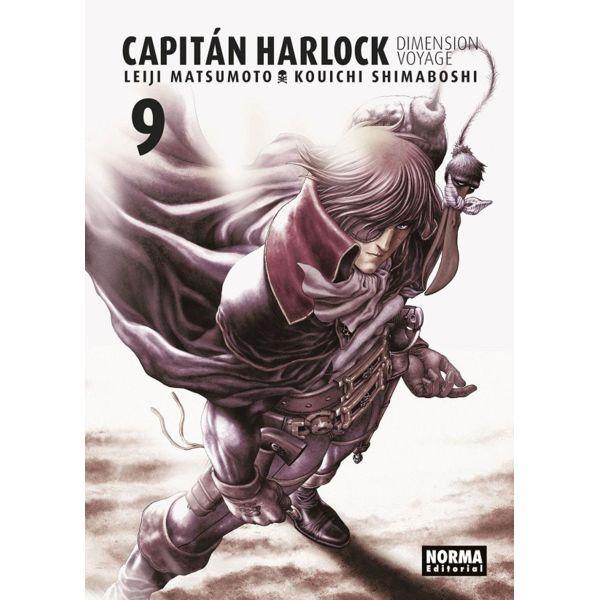 Capitán Harlock Dimension Voyage #09 Manga Oficial Norma Editorial