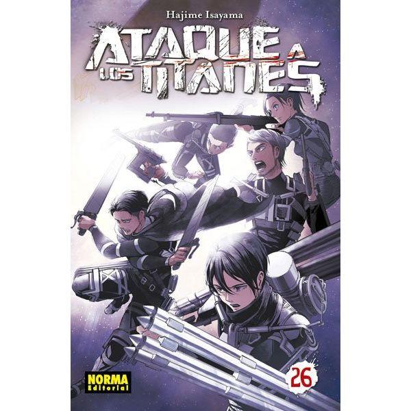 Ataque a los Titanes #26 Manga Oficial Norma Editorial