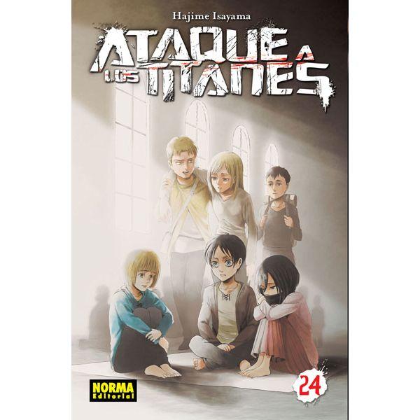 Ataque a los Titanes #24 Manga Oficial Norma Editorial