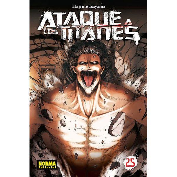 Ataque a los Titanes #25 Manga Oficial Norma Editorial