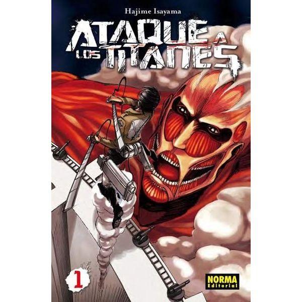 Ataque a los Titanes #01 Manga Oficial Norma Editorial
