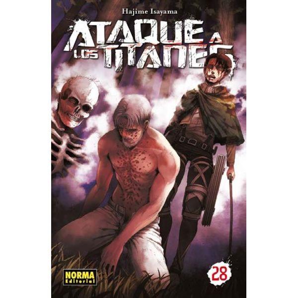 Ataque a los Titanes #28 (spanish) Manga Oficial Norma Editorial