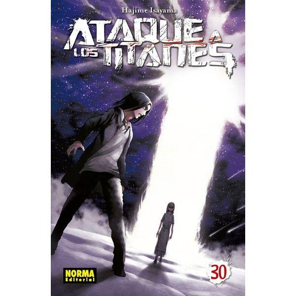 ¡Ataque a los Titanes #30 Manga Oficial Norma Editorial