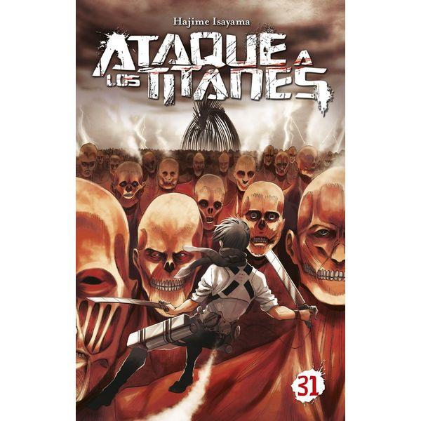 Ataque a los Titanes #31 Manga Oficial Norma Editorial