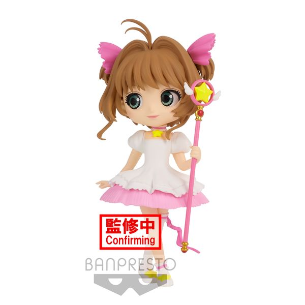 Sakura Kinomoto Figure Card Captor Sakura Version A Q Posket