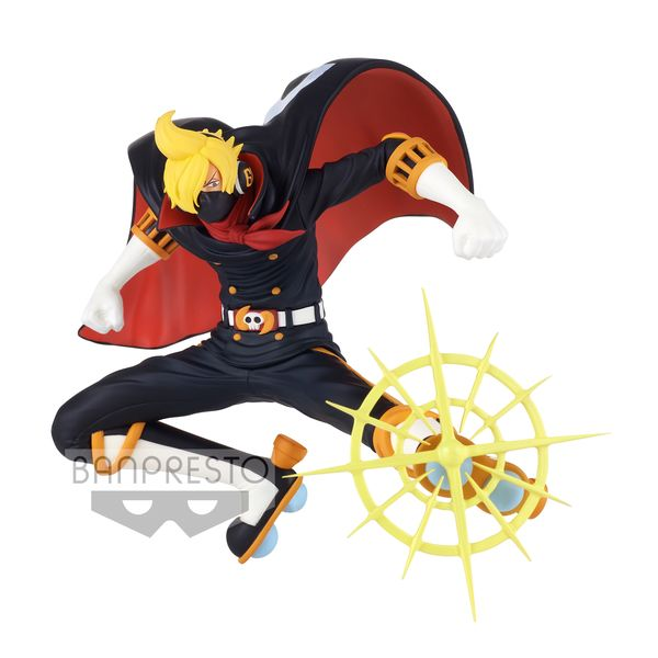 Sanji Osoba Mask Figure One Piece Battle Record Collection