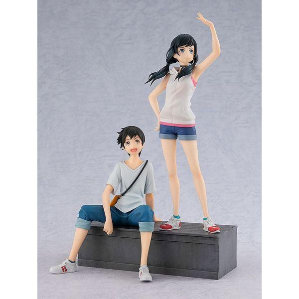Figura Hina Amano y Hodaka Morishima Set El Tiempo Contigo Pop Up Parade