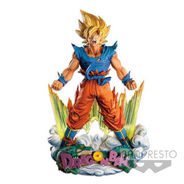 Figura Son Goku SSJ Super Master Stars Diorama The Brush Dragon Ball Z