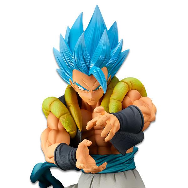 Figura Gogeta SSGSS Dragon Ball Super BWFC Super Master Stars Piece The Brush