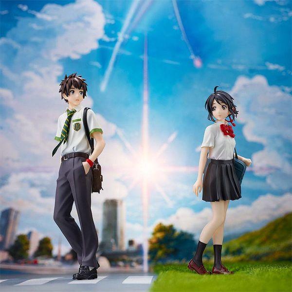 Figura Taki Tachibana y Mitsuha Miyamizu Set Your Name Pop Up Parade