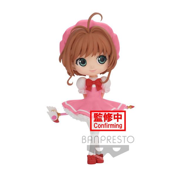 Sakura Kinomoto Card Captor Sakura Clow Card Figure Version A Q Posket
