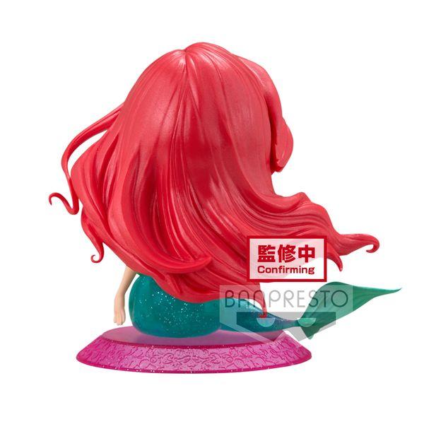 Figura Ariel La Sirenita Disney Q Posket Glitter Line