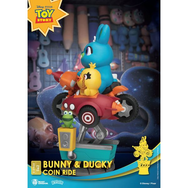 Figura Bunny y Ducky Coin Ride Toy Story 4 Disney Series Diorama D-Stage