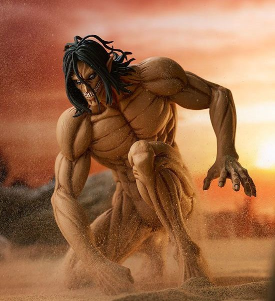Eren Yaeger Rogue Titan ver Figure Ataque A Los Titanes Pop Up Parade