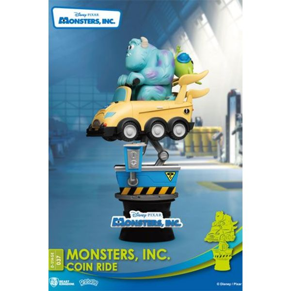 Figura Mike y Sully Coin Ride Monstruos SA Disney Series Diorama D-Stage