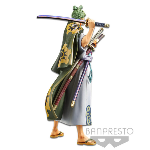 Figura Roronoa Zoro One Piece DXF The Grandline Men Wanokuni Vol 2