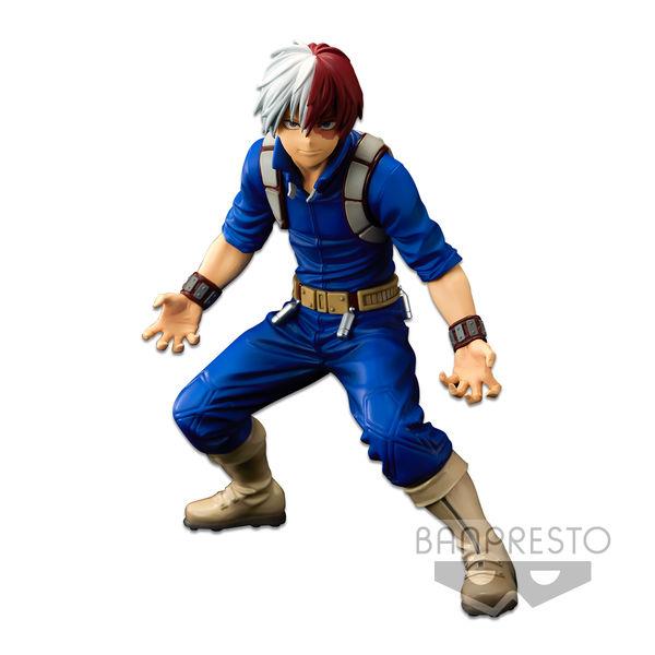 Figura Shoto Todoroki My Hero Academia BWFC Super Master Stars Piece The Brush