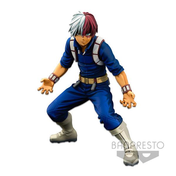 Figura Shoto Todoroki My Hero Academia BWFC Super Master Stars Piece Two Dimensions