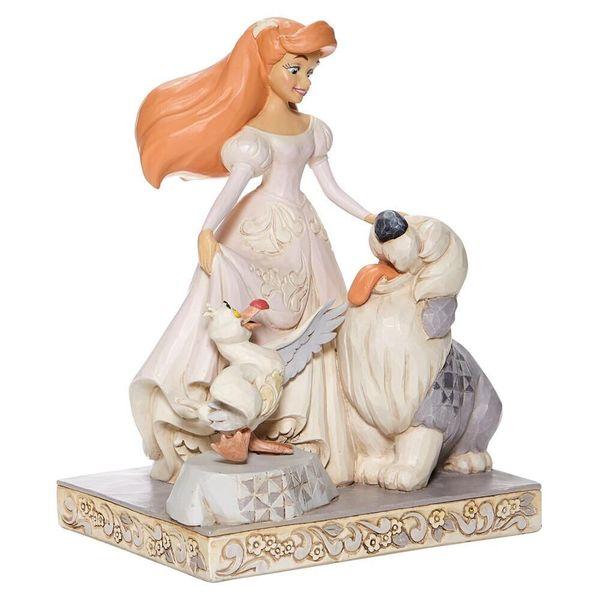 Figura Ariel Max y Scuttle La Sirenita Jim Shore Disney Traditions