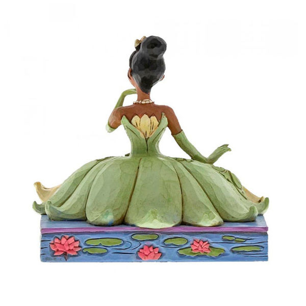 Figura Tiana Be Independent Tiana y el Sapo Jim Shore Disney Traditions