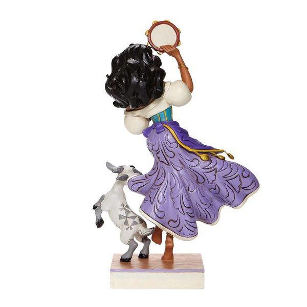 Figura Esmeralda y Djali El Jorobado de Notre Dame Jime Shore Disney Traditions