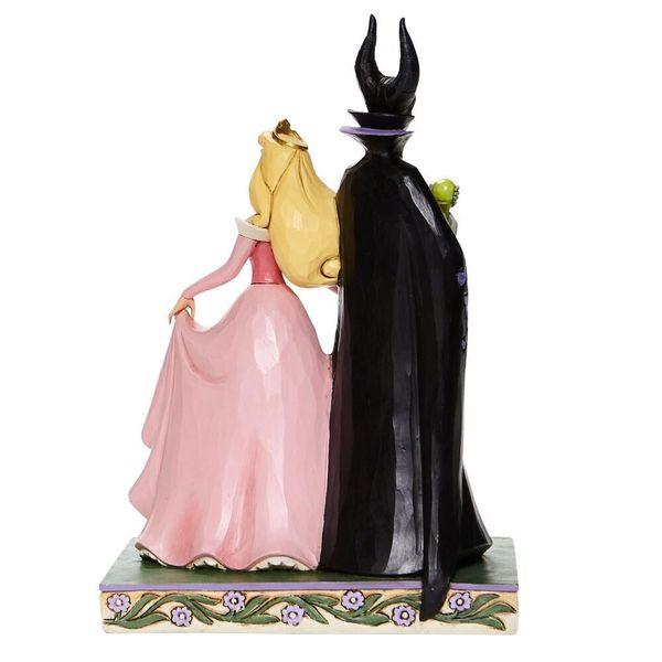 Figura Malefica & Aurora La Bella Durmiente Jim Shore Disney Traditions