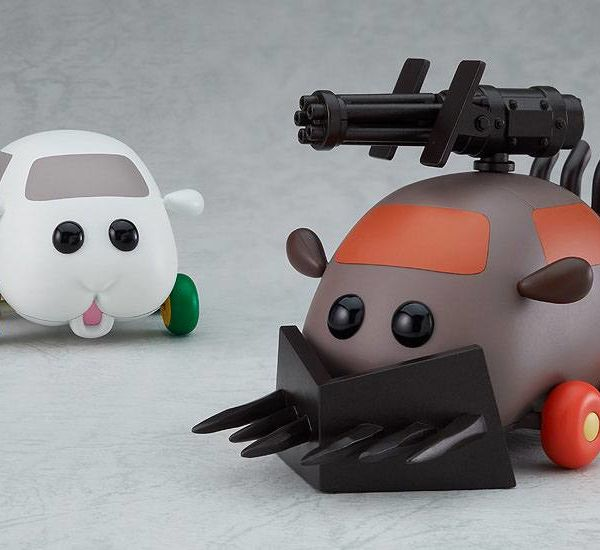 Model Kit Armored Teddy Los Pui Pui Moderoid