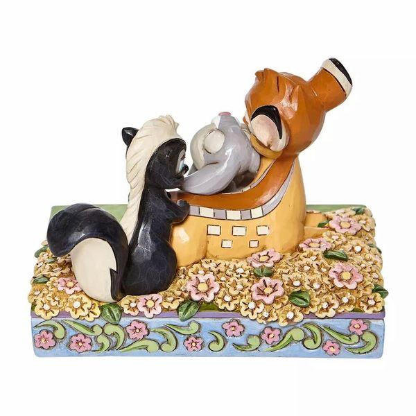 Figura Bambi Tambor & Flor Bambi Jim Shore Disney Traditions