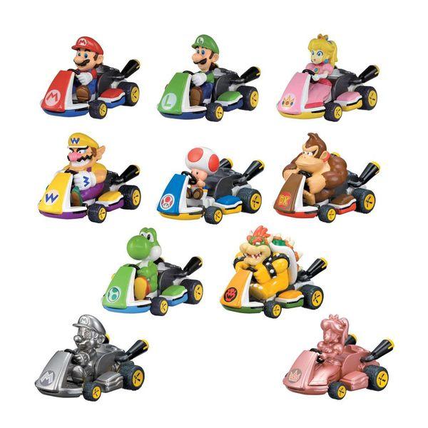 Coche de Cuerda Aleatorio Mario Kart Nintendo