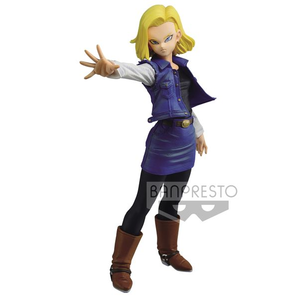 Figura Androide 18 Dragon Ball Z Match Makers