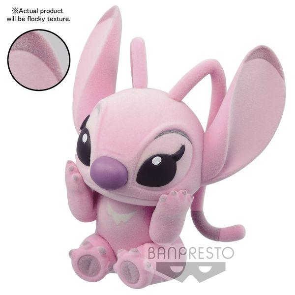 Figura Angel Disney Characters Fluffy Puffy Stitch & Angel