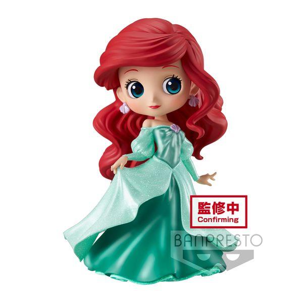 Ariel Princess Dress Figure Little Mermaid Disney Q Posket Glitter line
