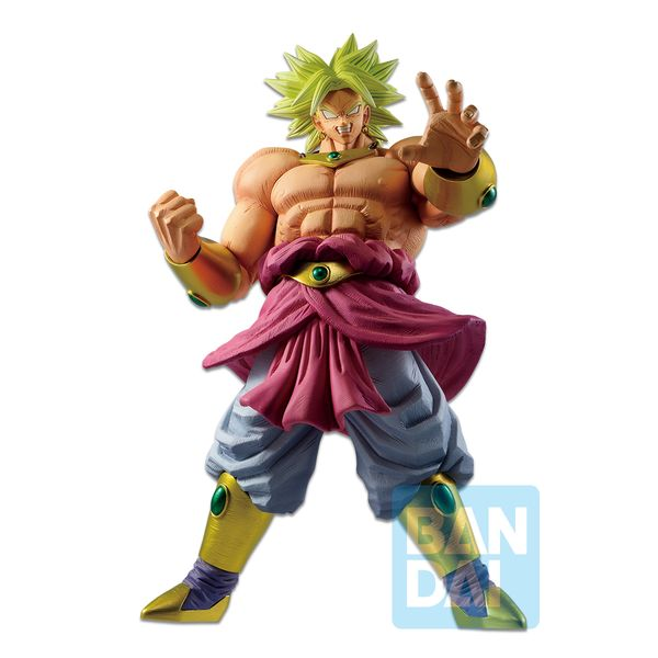 Figura Broly Super Saiyan Legendary Dragon Ball Z Ichibansho Vs Omnibus Z