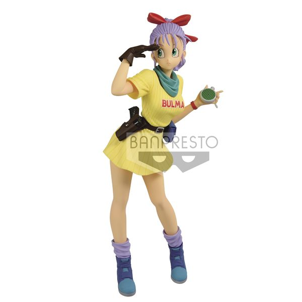 Figura Bulma III version B Dragon Ball Glitter & Glamours