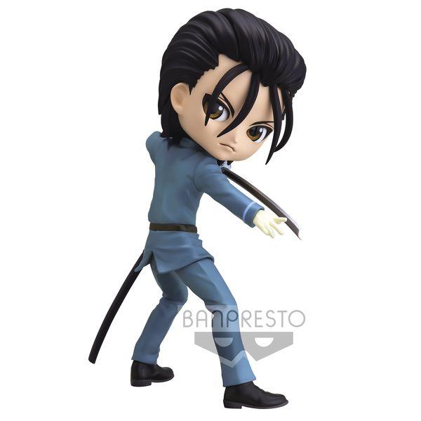 Hajime Saito Figure Rurouni Kenshin Meiji Swordsman Romantic Story Q Posket