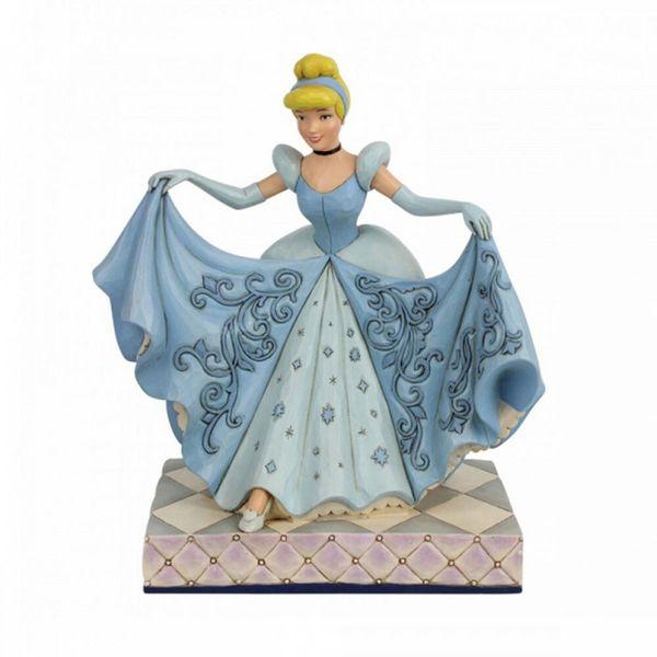 Figura La Cenicienta Zapato de Cristal Jim Shore Disney Traditions