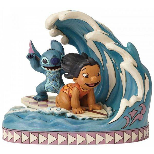 Figura Lilo & Stitch Surfeando 15º Aniversario Disney