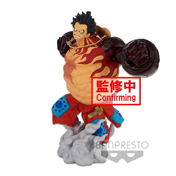 Figura Monkey D Luffy Gear 4 One Piece Super Master Stars Piece The Original