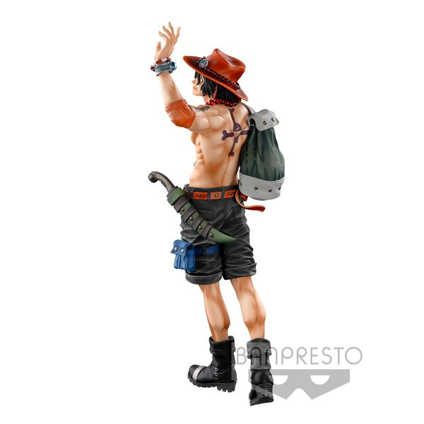 Figura Portgas D Ace One Piece BWFC Super Master Stars Piece The Brush