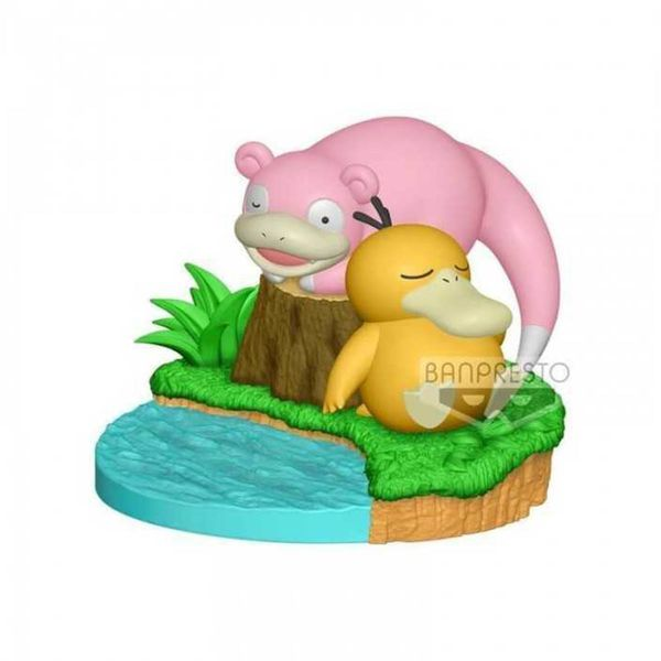 Psyduck y Slowpoke Figure Pokemon