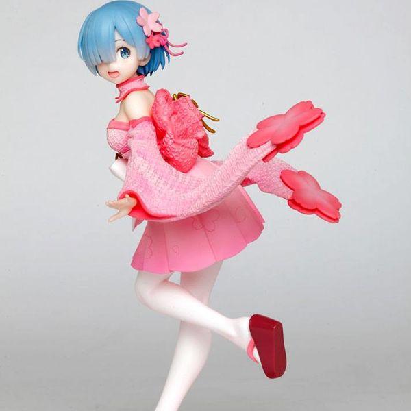Figura Rem Sakura Re:Zero Precious