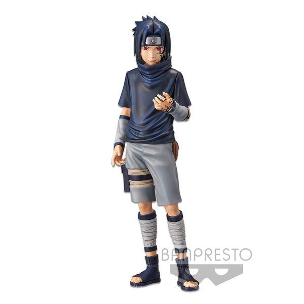 Figura Sasuke Uchiha V2 Naruto Grandista Nero